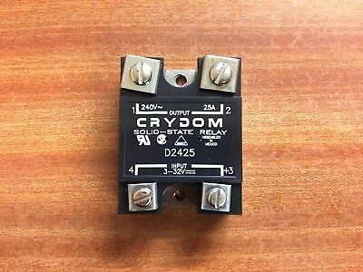 Crydom D2425 240V 25A Solid-State Relay