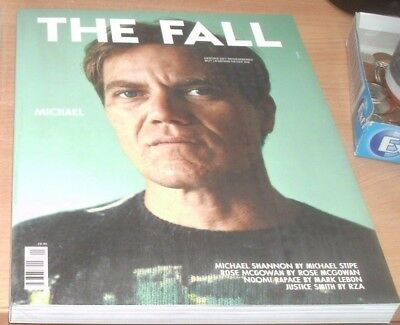 The Fall Magazine #1 Autumn/Winter 2017 Michael Shannon by Michael Stipe