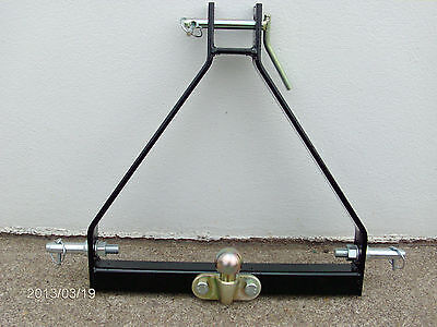 3 Point Hitch Compact Tractor Tow Ball A Frame Linkage