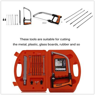 11 in 1 Multifunction Magic Saw Set Hand Soft Metal Glass Wood Cutting Tool HK