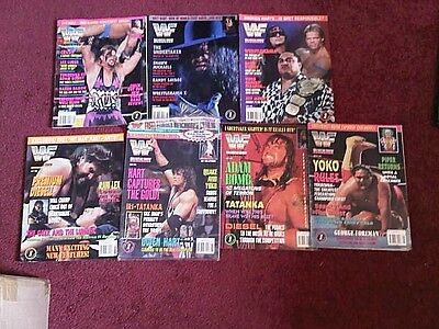 WWE WWF Magazine 1994 Bundle lot x 7 Issues