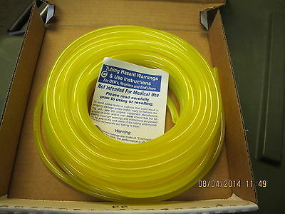 """3/16"""" ID 5/16"""" OD x 10' Tygon AAG00012 Fuel Hose and Lubricant Tubing, F4040A"""