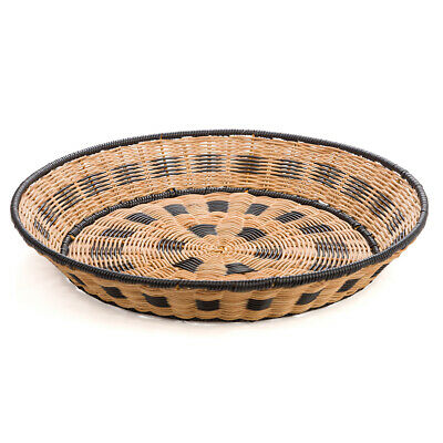 NEW The Outdoor Dept Woven Tray Round Natural