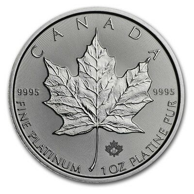 Platinmünze 1 oz Maple Leaf 2017 Kanada - 999,5er Platin