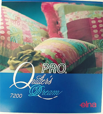 Elna 7200 Sewing Machine Workbook