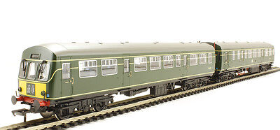 Bachmann  32-286 Cls 101 2 Car DMU In BR Green W/- Sml Yellow Panel- Aus Wty