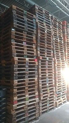 Heavy duty wooden  pallets 44 × 56