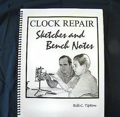 Clock Repair, Sketches and Benchnotes Book
