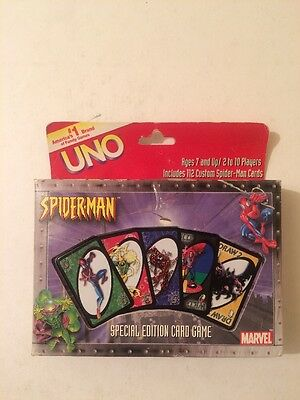 UNO - SPIDERMAN Special Edition Marvel Tin Cards Sealed