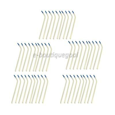 50pcs Tubes d'Aspiration Buccal Outil Dentaire Dentistes Usage Chirurgical