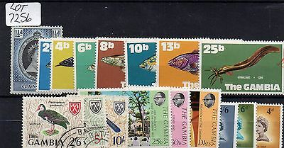 Lot Of Gambian Stamps Mint /used