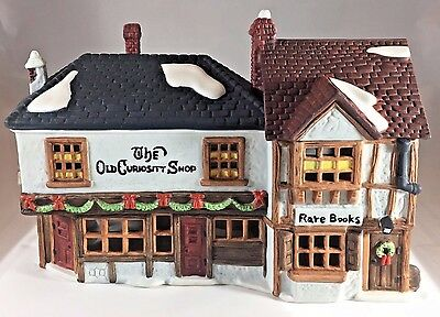 1987 Dept 56 Dickens' Village #5905-6 The Old Curiosity Shop Lighted Building