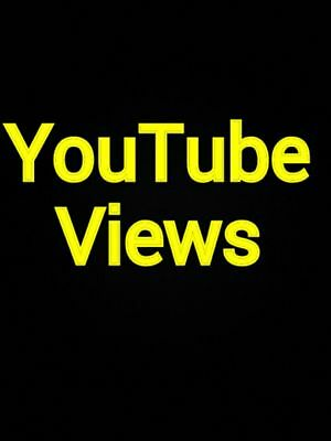 1000+ HQ Safe, Life time Super Fast YT video views 48 to 72 hrs