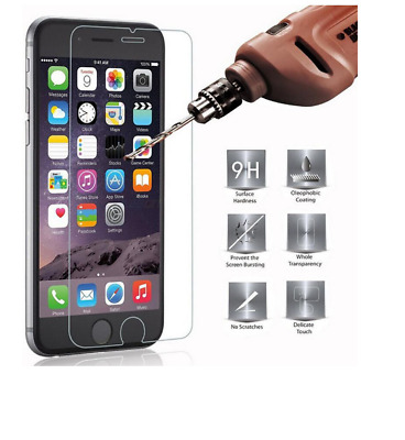 Vitre protection VERRE TREMPÉ pour iphone 2 4 4S 5S 6S 6 7 8 plus tempered glass