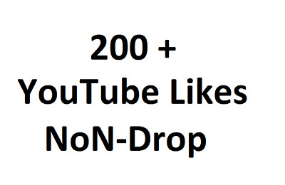 Get Promotion with 200 + YT Video High Quality Likes