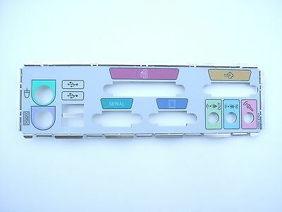 Job Lot of 100 IO IO Shield Back Plate Standard Layout - Colour Coded