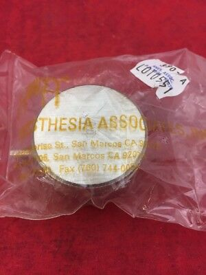 """ONE NEW AINCA Stethoscope Chest Piece Sound Chamber 390-A Adult 1.5"""" Diameter"""