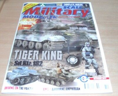 Scale Military Modeller International magazine Oct 2017 Tiger King Sd.Kfz.182