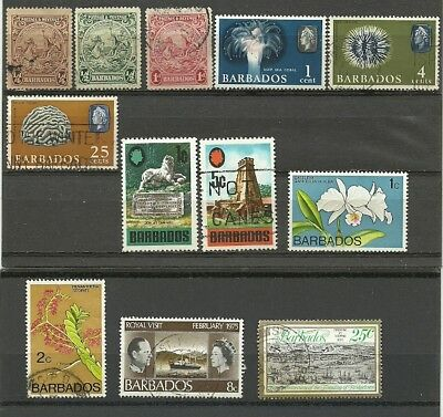 Barbados 1925-78 Mint/Used lot