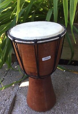 Djembe Wood Percussion Drum !