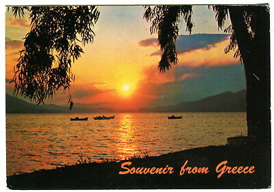 Souvenir from Greece. Used postcard