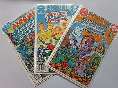 Justice League of America (1960 1st Series) Annual #1-3 Set - 4.0 - 1983-1985