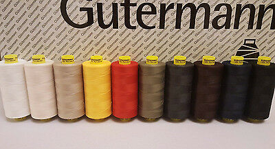1000M Gutermann Mara120 All Purpose General Sewing Thread