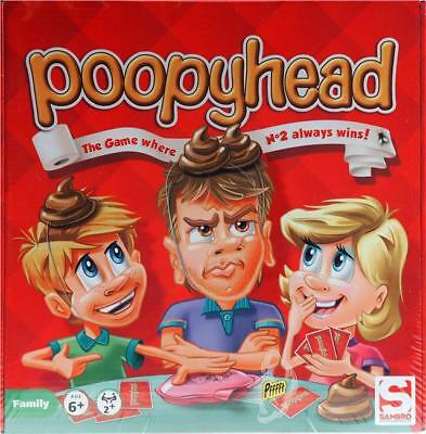 Poopy Head - Fun Kids Board Game Christmas Present New poopyhead
