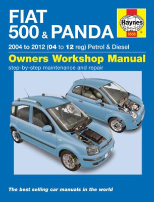 Haynes Workshop Manual Fiat 500 & Panda 2004-2012 Service & Repair