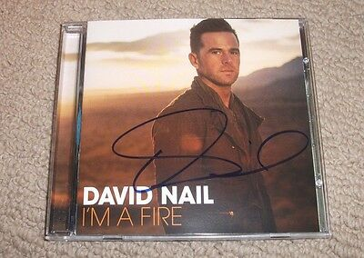 David Nail - Signed I'm A Fire Cd *autographed* Country