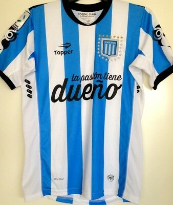 Racing Club matchworn shirt Argentina match worn Jersey camiseta Copa Videla