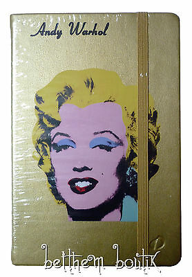 Goth : Carnet de Notes Marylin Monroe by Andy Warhol OR Doré Quo Vadis gothique