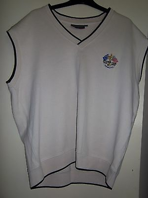 Mens Glenmure Sleevesless Pullover Size Medium(Ryder Cup The Belfry)