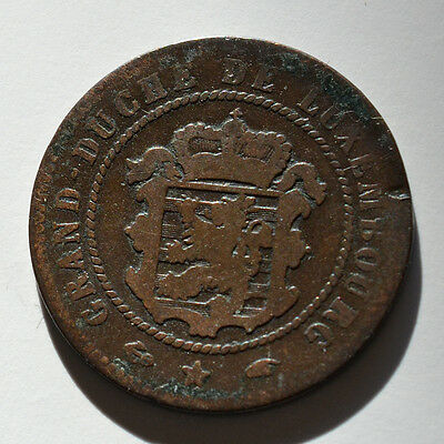 Luxembourg, 5 Centimes 1855, A10292