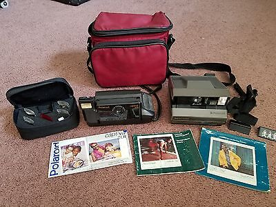Polaroid Spectra Camera Instructions, Special Effects Filter, Carry Bag Lot