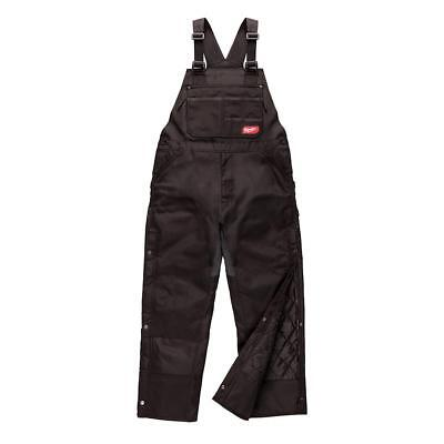 Milwaukee 261B-LS (Large, Short) Black GridIron Zip-To-Thigh Bib Overall