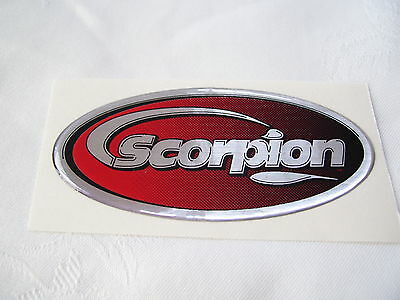 Scorpion Exhaust Decal ~ Gel Type ~ Heat Resistant