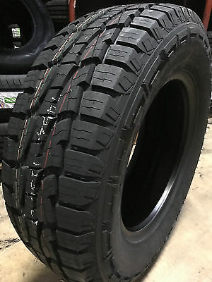 2 NEW LT285/70R17 Crosswind A/T Tires 285 70 17 2857017 R17 AT 8ply All Terrain