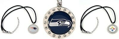 NFL Circle Logo Charm Necklace PICK YOUR TEAM