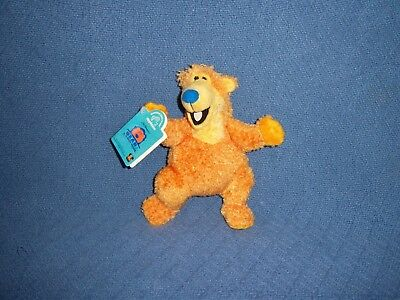 Bear In The Big Blue House NEW Stuffed Plush Doll Toy Disney TV Show Animal Bean