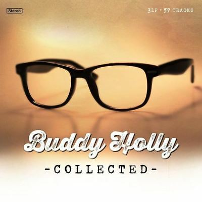 Buddy Holly - Collected - Ltd Edition Numbered Reissue - 3 x Gold Vinyl LP