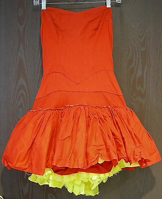 Can-Can ~ Saloon ~ Burlesque Adult Outfit ~ Home Made - Fun and Sexy ~ S/M