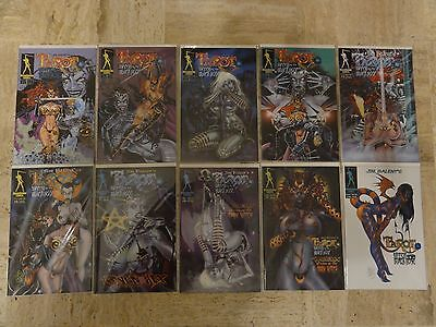 Tarot Witch Of The Black Rose  #1-58 + 3 Little Kittens  Jim Balent complete run