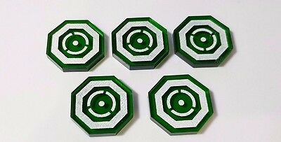 Imperial Assault Acrylic Promo Focus Focused Tokens from official FFG Kit