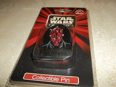 Star Wars Episode 1 I Collectible Pin - New and Sealed - DARTH MAUL