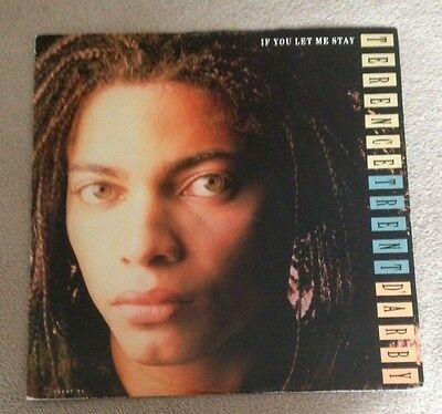 """12"""" Terence Trent D'arby  If You Let Me Stay 1987."""