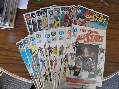 The Young All-Stars Complete Rin #1-20 Dc Comics Higher Grade Lot