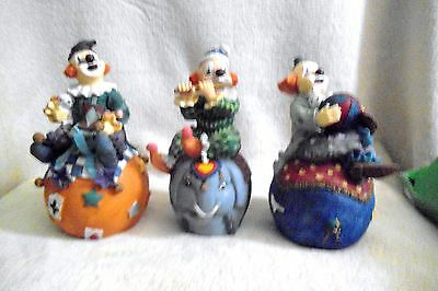 clown collection figurines
