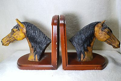 horse bookends - stunningly beautiful - very high craftmanship and very detailed