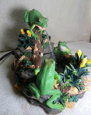 frog waterfountain - works great - very nice
